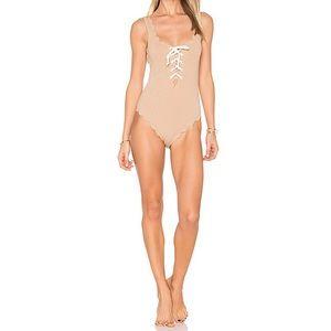 Marysia Swim Palm Springs Tie Swimsuit